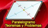 Paralelogramo, Teoremas y Problemas.