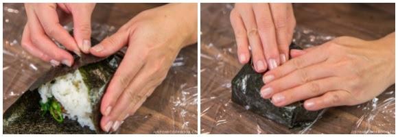 Bulgogi Onigirazu • Just One Cookbook