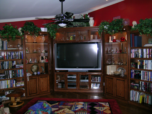A Corner Cabinet for a 50-inch Television