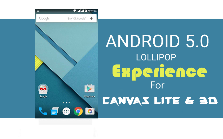 ROM][ANDROID L v1][JB 4 2 2]Android 5 0 Themed Rom For Canvas Lite