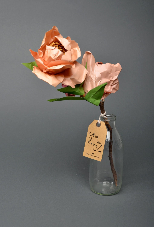 Rosetta: Paper bouquet