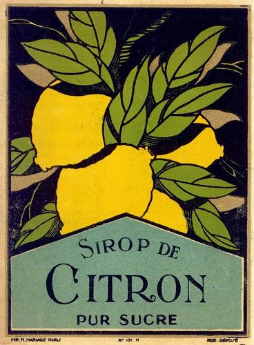 sirop citron 1