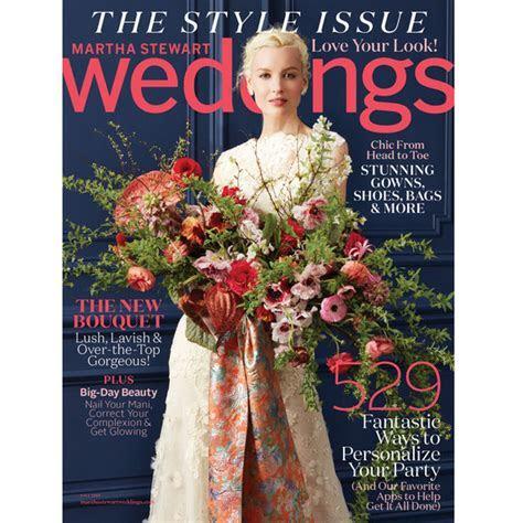 Go Inside Our Brand New Fall Issue!   Martha Stewart Weddings