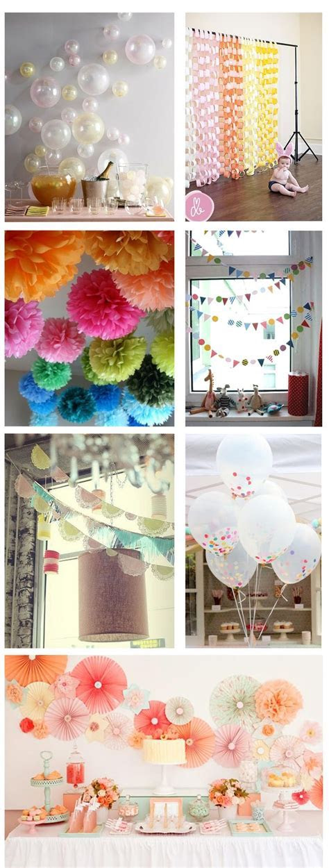 Engagement Party at Home     inspiration for crafty diy