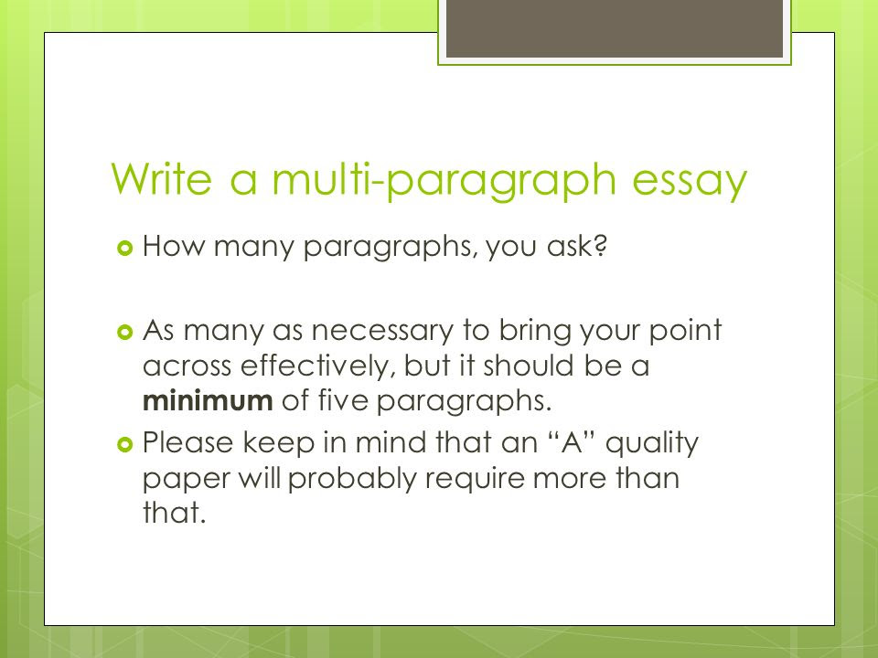 how to write a 5 paragraph essay on symbolism