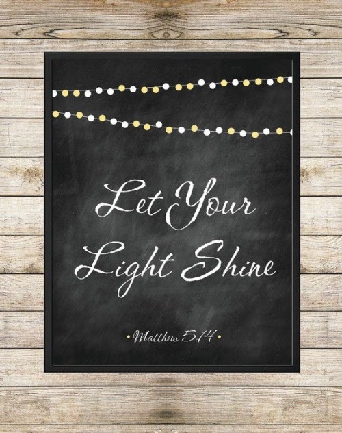 Light Jesus Christ God Bible Matthew Sunshine Shine Scripture