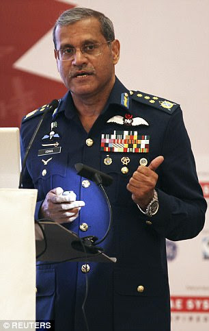 The Chief of Pakistan Air Force Marshal Sohail Aman has said that his force could shoot down any drone which violates the country's airspace including American