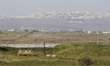 Israeli Syrian border in the Golan Heights