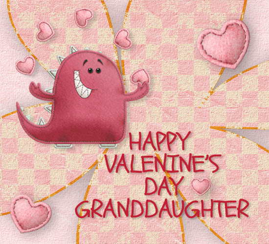 Valentines Day Granddaughter Free Family Ecards Greeting Cards