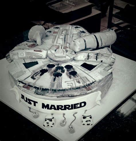 Millennium Falcon Grooms Cake Star Wars Han Solo   I'm no
