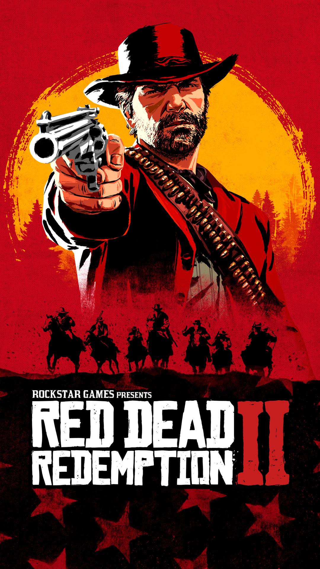 Red Dead Redemption 2 Htc Wallpaper 1080x1920 Resolution