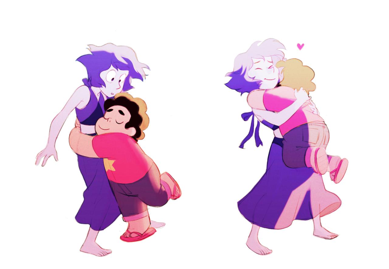 Steven hugs are the best hugs UuU