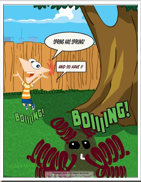 Phineas And Ferb Comic Book Maker