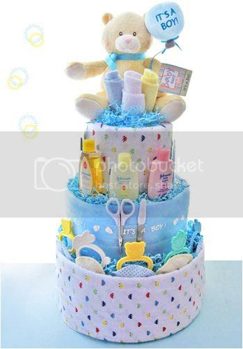 It's A Boy 3 Tier Diaper Cake