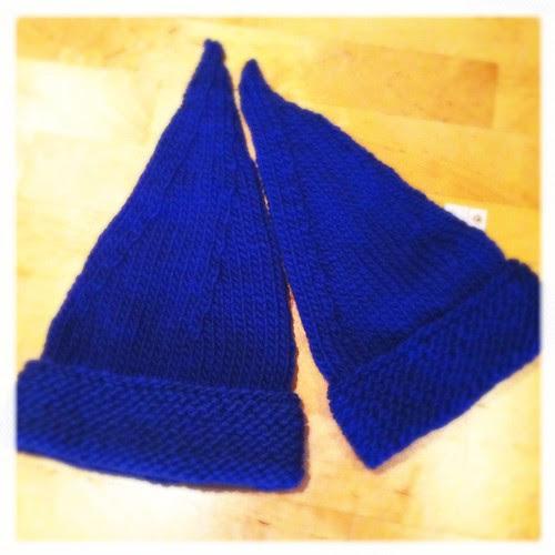 Blue hats :: blå luer