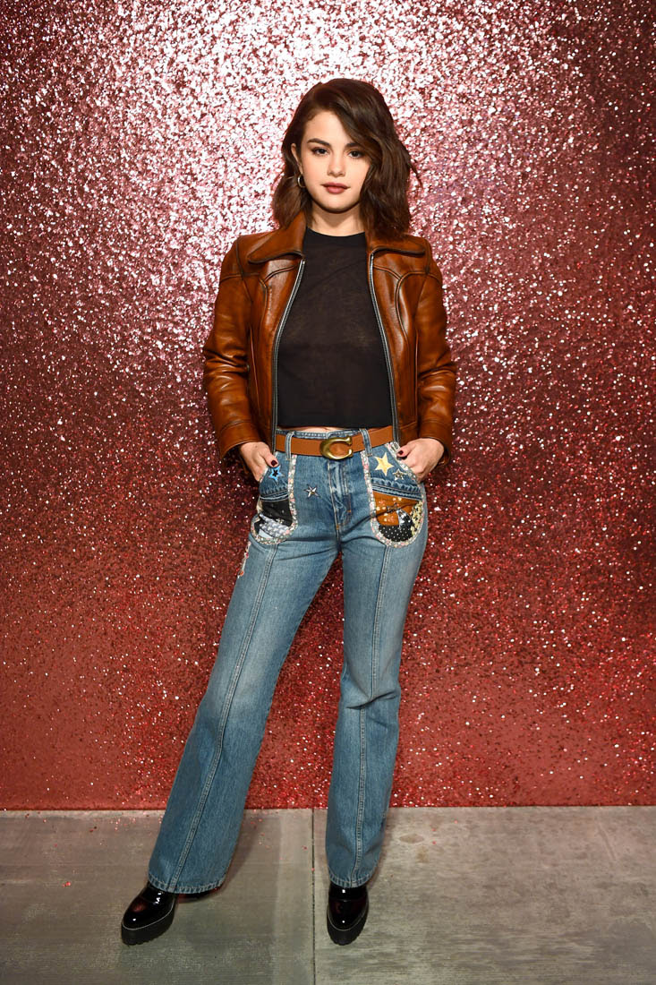 selena gomez represents coach at new york fashion week