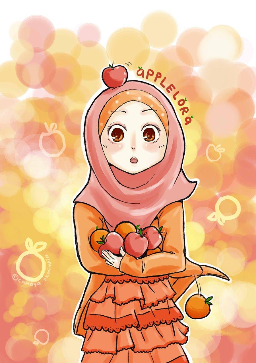 9700 Gambar Kartun Muslimah Tercantik HD Terbaik