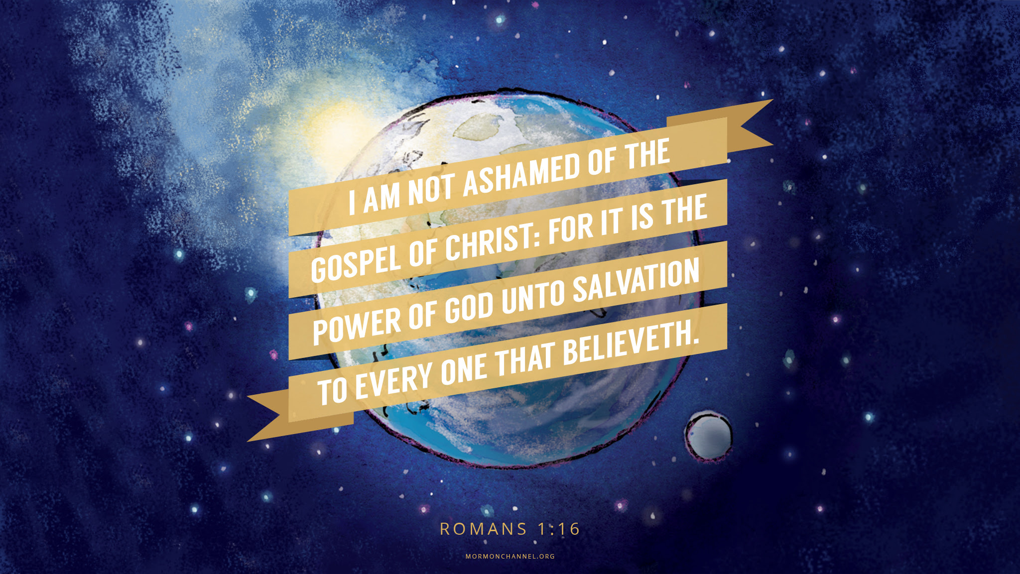 Daily Quote I Am Not Ashamed Of The Gospel Mormon Channel