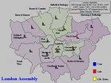 Forecast for London (UKIP Vs Green Percentages)