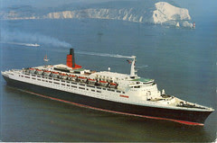 QE2 Postcard 9 May 08 (Front)