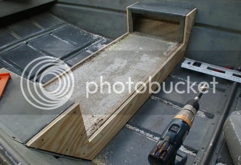 Plywood Jon Boat Floor Junk Her