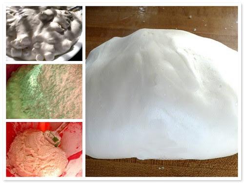 making marshmallow fondant
