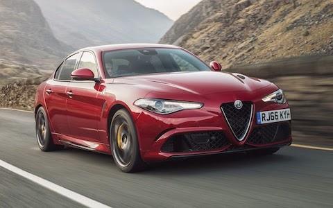 2017 Alfa Romeo Giulia Quadrifoglio 60k