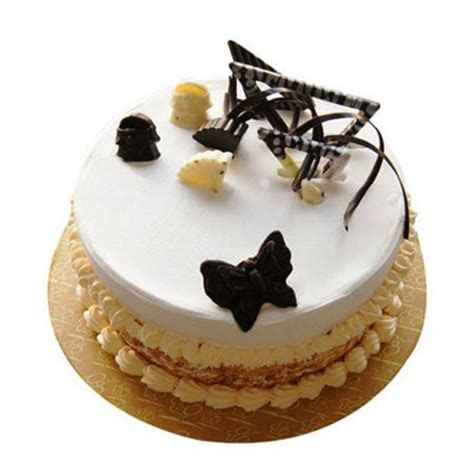 Send Butterscotch Round Cake Online from BookMyFlowers