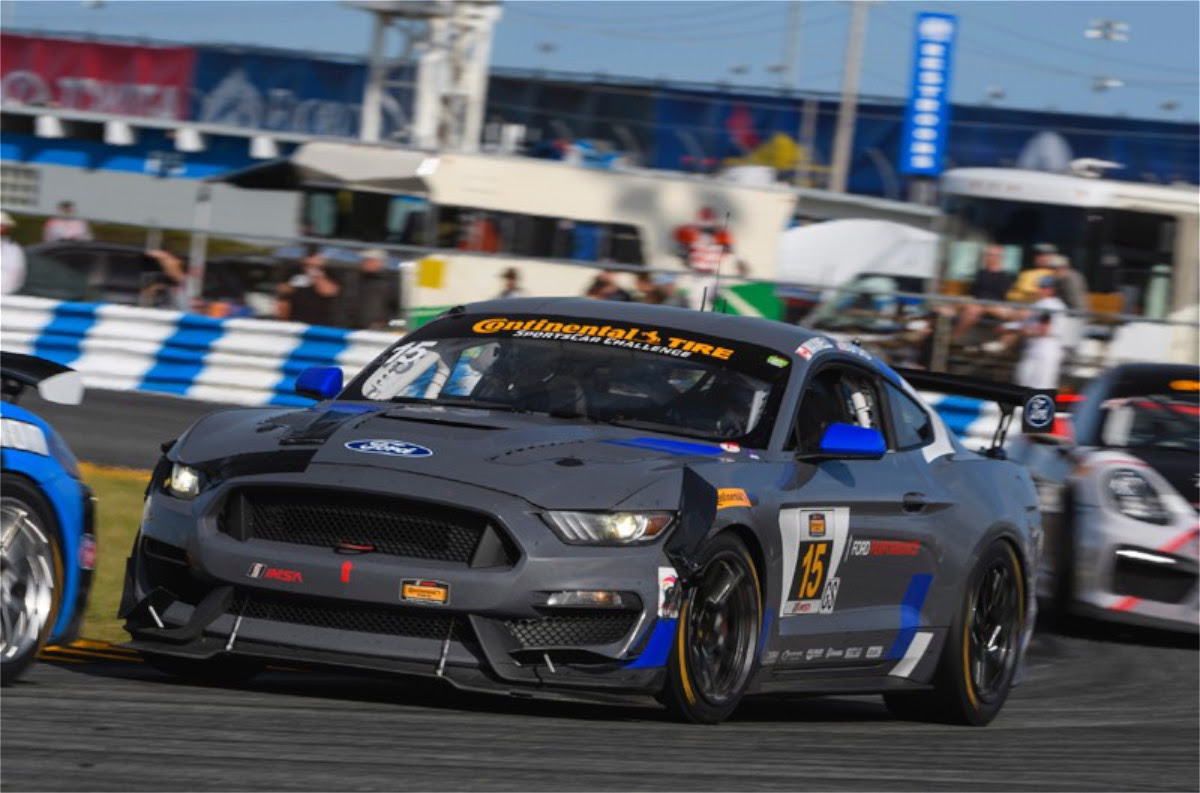 Mustang Gt4 Shows Promise In Imsa Grand Sport Debut