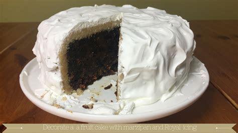 Royal icing cake : Royal Icing Recipe : Marzipan Cake