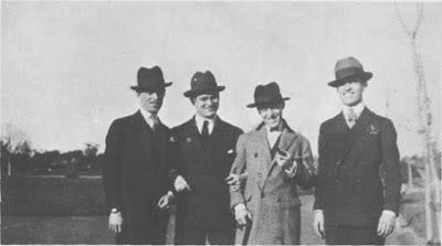 Francisco De Caro,Manlio Francia,Julio De Caro y Pedro Laurenz