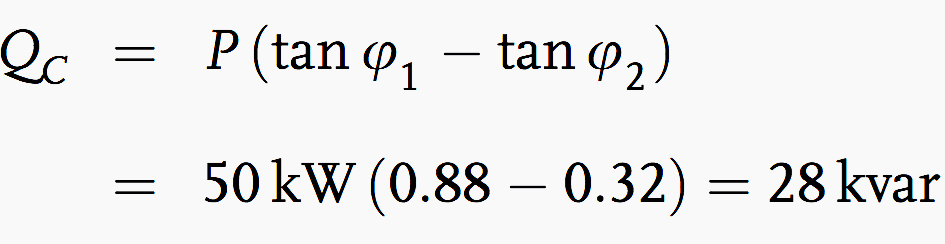 Qc formulae