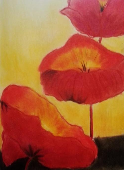 PanPastels Poppies
