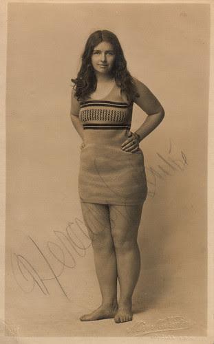 now identified: Mercedes Gleitze, champion swimmer