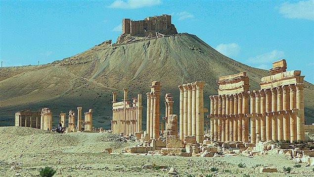 Palmyre en Syrie