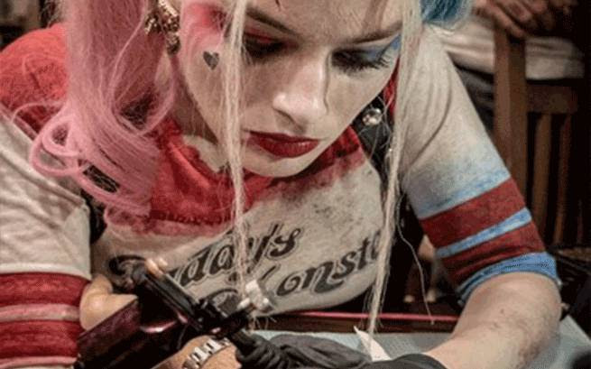 The Origin Of Harley Quinns Tattoos In Suicide Squad Revealed
