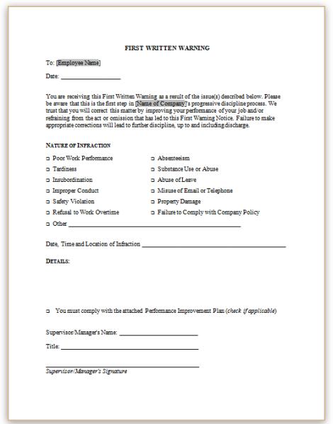 Warning Letter For Insubordination from lh6.googleusercontent.com