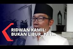 Ridwan Kamil: Anak Sekolah Belajar di Rumah, Dibekali Kurikulum Soal Covid-19