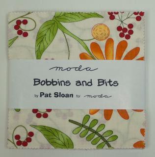 Moda Charm Pack - Bobbins & Bits by Pat Sloan
