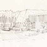 Conceptual Sketch : Image courtesy Hiren Patel Architects