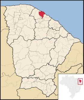Localização de Trairí