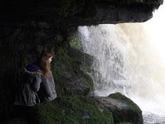 Under Cauldron Falls