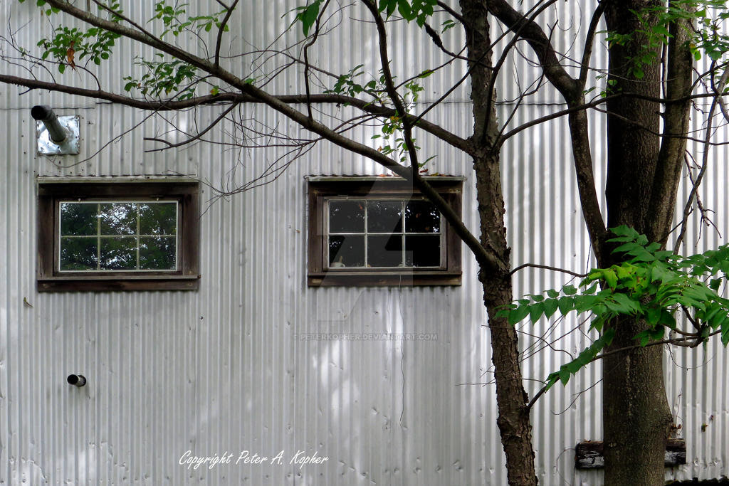 Corrugated and Windowed copyright by peterkopher