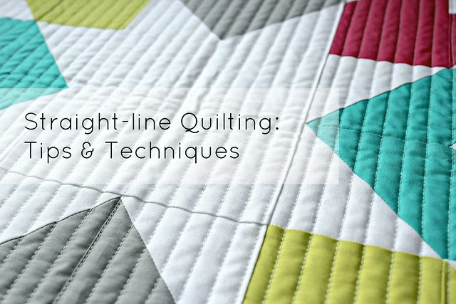 Canoe Ridge Creations Straight Line Quilting Tips