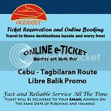 OceanJet Cebu-Tagbilaran Libre Balik Promo