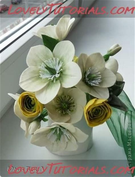 Christmas rose, Flower tutorial and Roses on Pinterest
