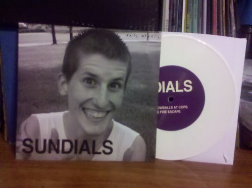 "Sundials / Spraynard - Split 7"" - White Vinyl"