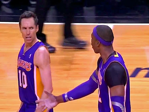 Avatar of Steve Nash Snapped At Dwight Howard In The Middle Of The Heat-Lakers Game - Business Insider