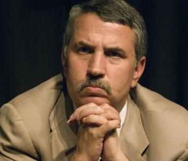 A pensive Tom Friedman