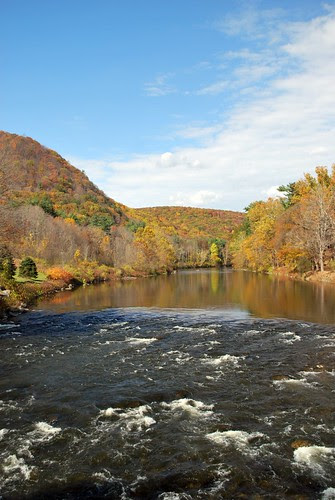 The Housatonic River from the Bridge
